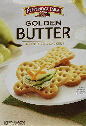 (Pepperidge Farm, Golden Butter Crackers, 9.75oz Box (Pack of 2))