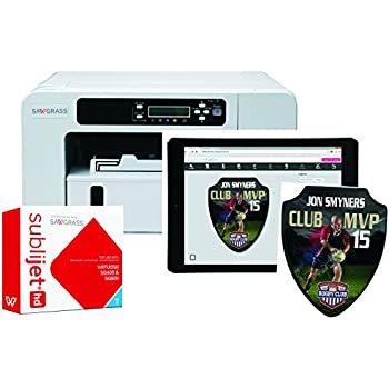 Sawgrass Virtuoso SG800 (Ricoh based) Complete Sublimation Printer Kit Ink set + 100 sh paper