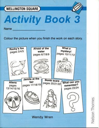 New Look Wellington Square Activity Book Level 3 PDF ePub fb2 ebook