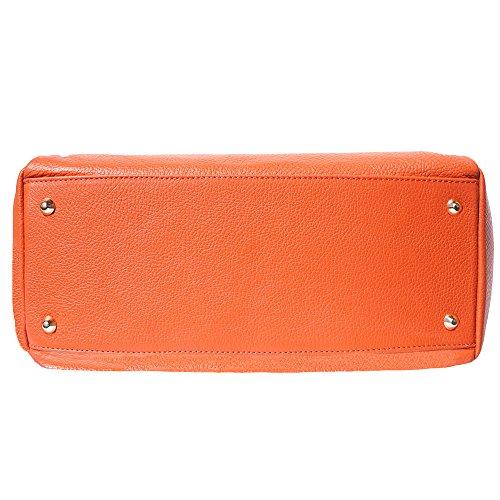 Sac Main 8058 À Arancione Double Poignée xg046pgwq