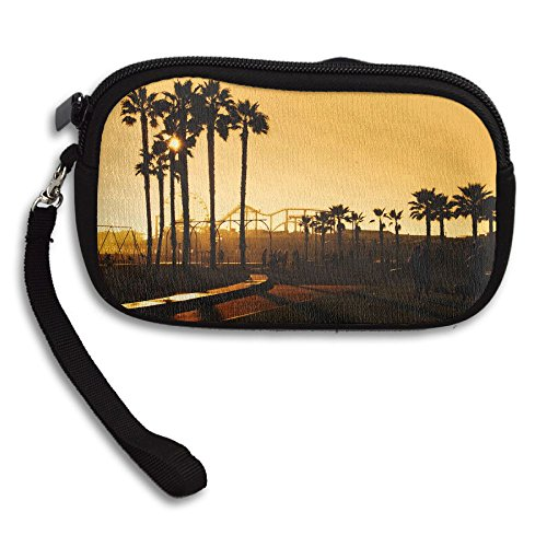 Printing Small Deluxe Monica Pier Santa Receiving Angeles Bag Portable Los Purse Sunset 6CTgYqw