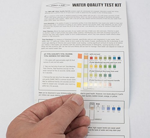 Pro-Lab WQ105 Water Quality Do It Yourself Test Kit