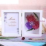 European live roses picture frame Eternal flower gift box Birthday gift-J