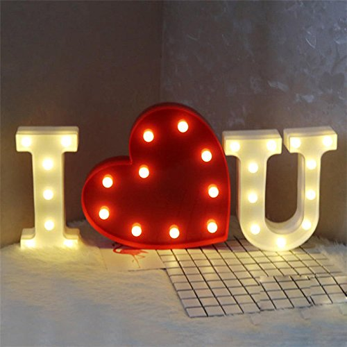 3W LED Heart Shape Table Lamp Indoor Warm White Lighting For Home Room Decor (Icicles Sunglasses)