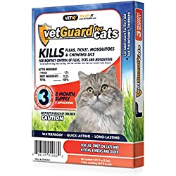 Vetiq VetGuard Flea & Tick Drops for Cats