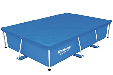 Bestway 58105 Frame Pool Cover, 102-Inch by 67-Inch