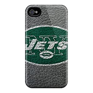 Durable Cases For The Iphone 6- Eco-friendly Retail Packaging(new York Jets)