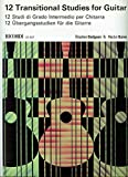 img - for 12 Transitional Studies for Guitar book / textbook / text book
