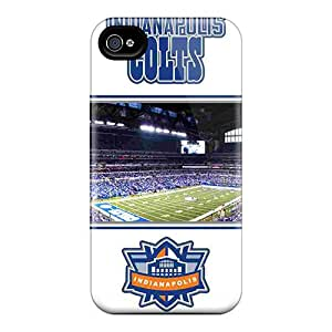 Premium Indianapolis Colts Heavy-duty Protection Case For Iphone 4/4s