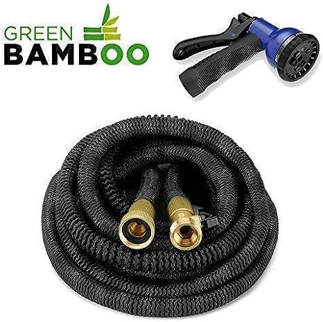 compatible HOZELOCK Connecteurs 15 m longueur-Nouveau Green Braded tuyau de jardin