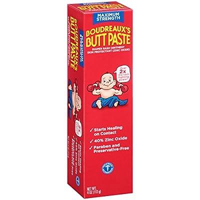 Boudreaux's Butt Paste Diaper Rash Ointment, Maximum Strength, 2 Ounce