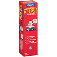 Boudreaux's Butt Paste Diaper Rash Ointment - Maximum Strength - Contains 40% Zinc Oxide - Pediatrican Recommended - Paraben and Preservative-Free - 4 Ounce