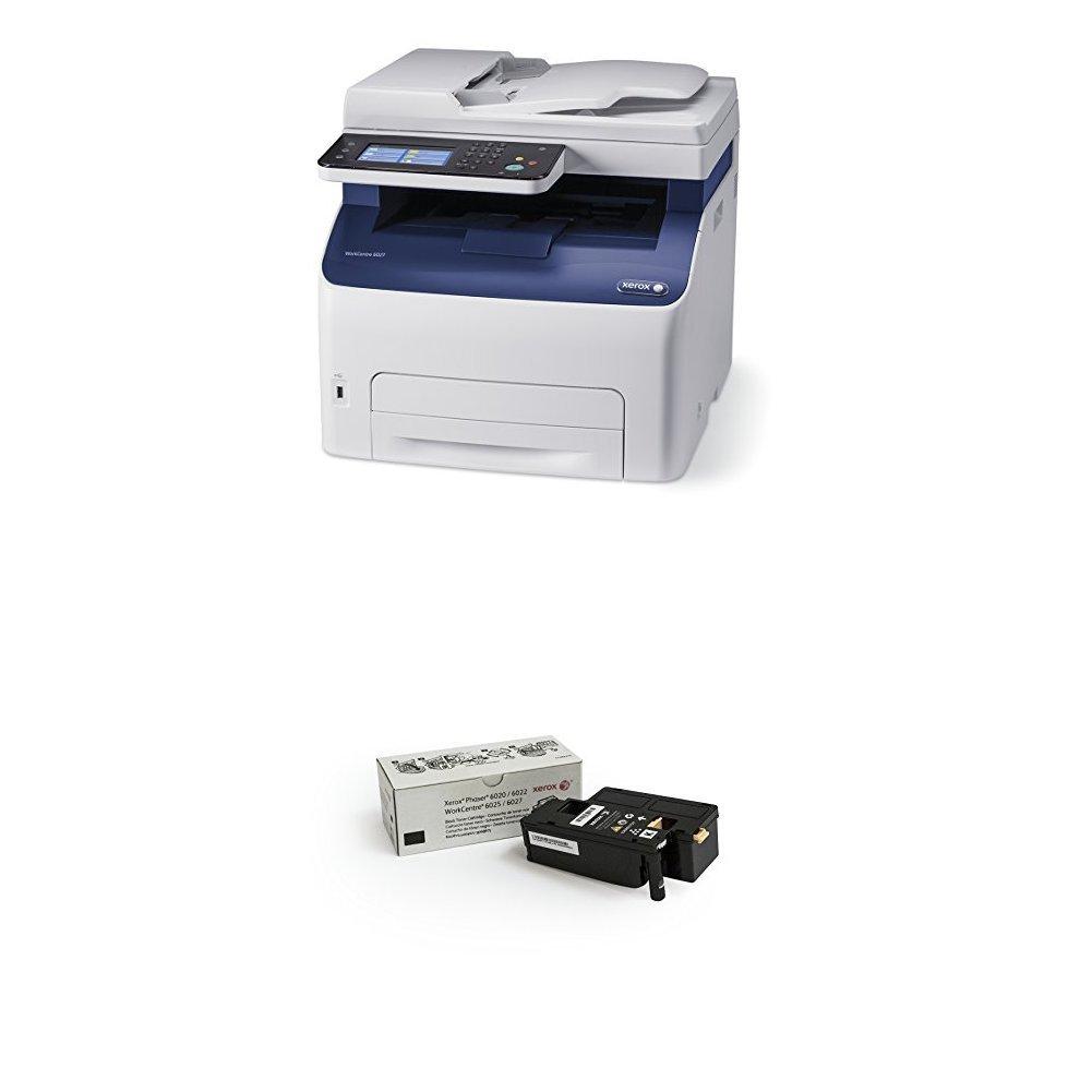 Amazon com : Xerox WorkCentre 6027/NI Wireless Color Photo Printer