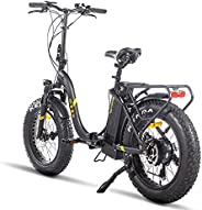 Belle House Electric Bike Bicycles for Adult 500W/750W Powerful 7-Speed Ebike with Removable Lithium Battery,
