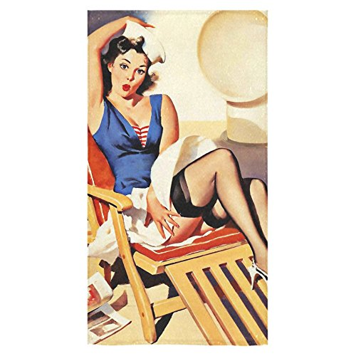 Stylish And Customized Soft And Comfortable Navy Sexy Pin-up