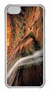 iPhone 5C Case, Personalized Custom Tsegi Canyon Navajo National Monument Arizona for iPhone 5C PC Clear Case