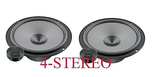 "4 opinioni per Sistema 2 vie da 16,5 Hertz nuovissima serie ""uno"" K-165 woofer + tweeter 300w"