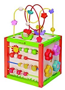 Everearth Eco Friendly Garden Activity Cube Toys Games