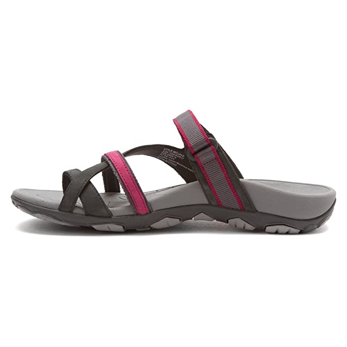 c174795e5a31 Orthaheel Mojave Womens Orthotic Sandals Charcoal Berry - 11 UK Size   9   Amazon.co.uk  Shoes   Bags