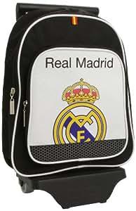 Safta 611324020 - Real Madrid C.F. Mochila infantil con ruedas
