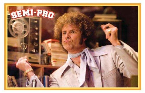 Semi-Pro Movie Movie Art Print Movie Memorabilia Poster, Vibrant Color, Features Will Ferrell, Woody