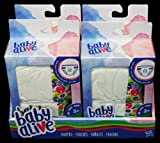 Baby Alive DIAPERS Double Pack (12 diapers) by Hasbro