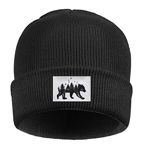 flySpacs Men Women Watch Beanie Hats Winter Soft Thick Warm Knit Hat Skull Cap