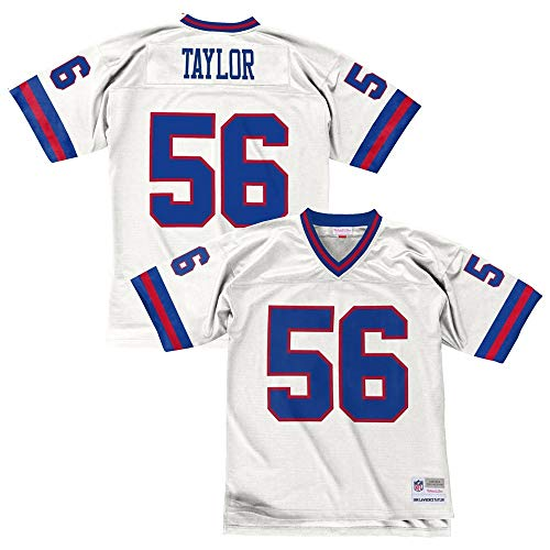 408dd617c spain lawrence taylor new york giants mens nfl mitchell ness premier white  jersey 61de0 dc4cc  store new york giants throwback jerseys 8998f 04ba7