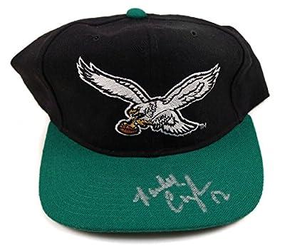 Randall Cunningham Eagles Signed NFL Starter Hat - COA - JSA Certified - Autographed NFL Hats
