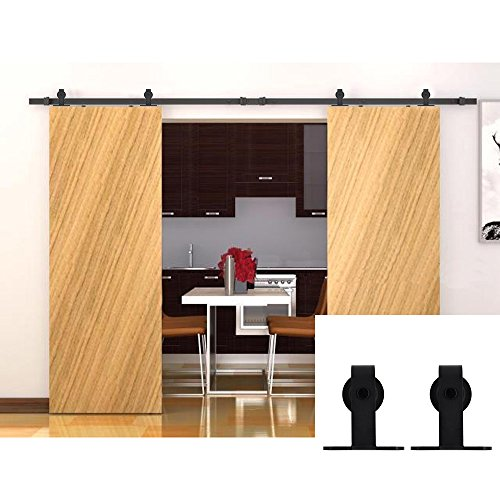 Winsoon decorative double sliding barn wood door hardware