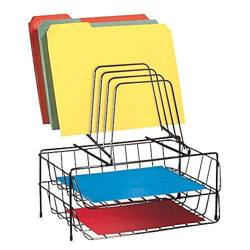 FEL72391 - Double Tray with Step File Size: 2 - Pack Style: Black, Model: , Office/School Supply Store