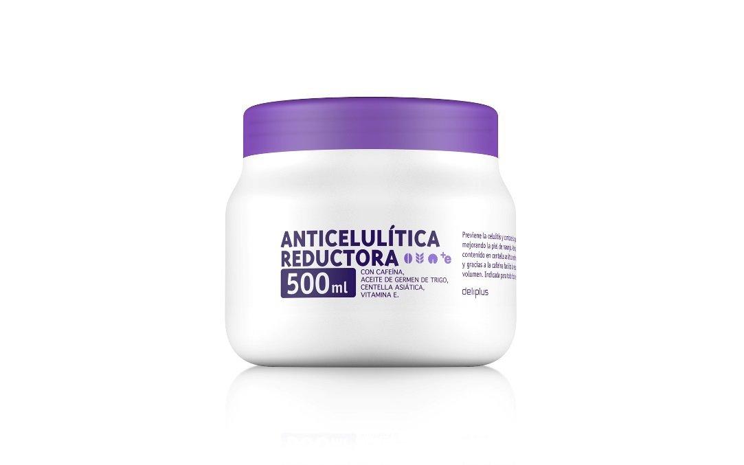 Crema anticelulitico reductor 500 ml - Previene la celulitis, combate la grasa localizada y reafirma la piel. INDICADA PARA TODO TIPO DE PIELES: Amazon.es: ...