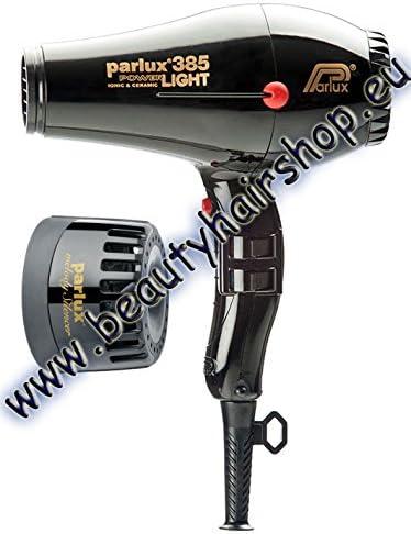 385 PowerLight asciugacapelli Nero
