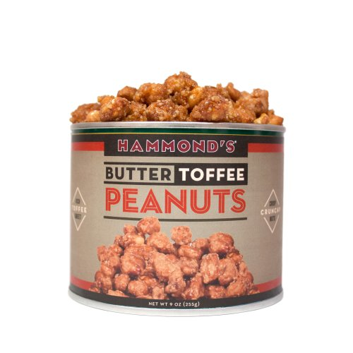 Butter Toffee Peanuts 9 Ounce Can