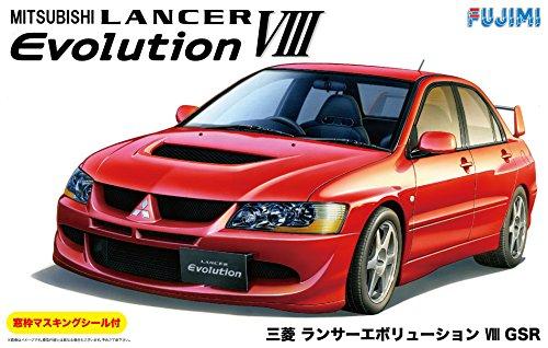 (With Mitsubishi Lancer Evolution VIII GSR sash masking seal (plastic model) )