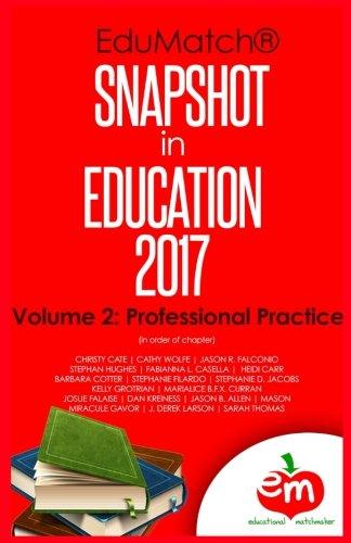 EduMatch Snapshot in Education (2017): Volume 2: Professional Practice