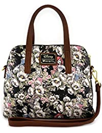 x Disney Princesses Faux Leather Floral Sketch Bag