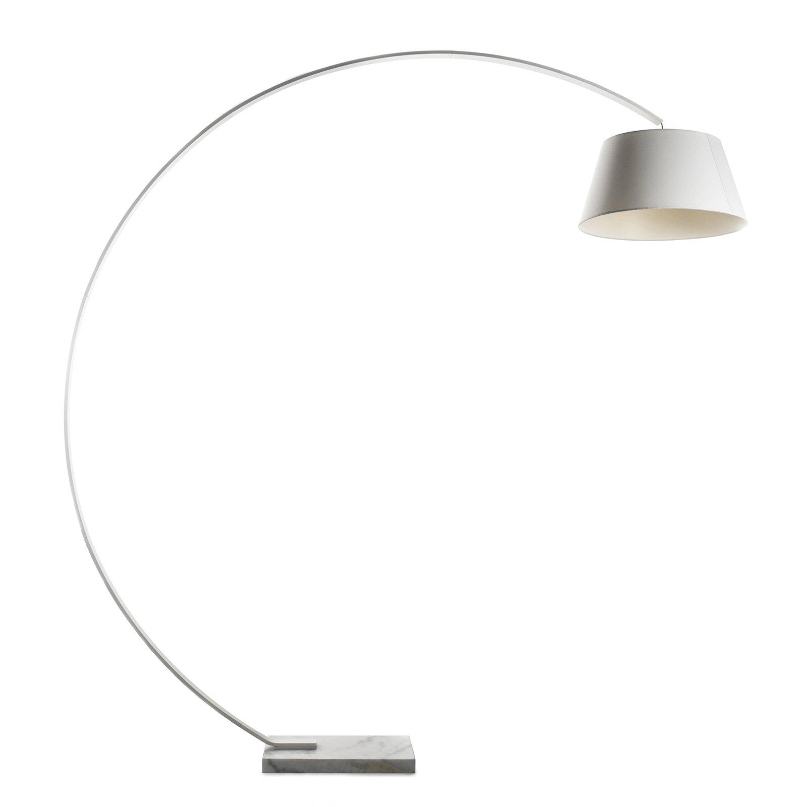 Meelano 108-WHI Floor Lamp, White
