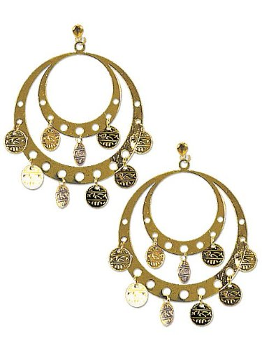 Rubie's Costume Co. Pierced Gypsy Earrings Costume ()