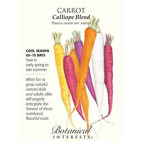 New Calliope Blend Carrot Seeds - 1 gram - Botanical Interests hot sale
