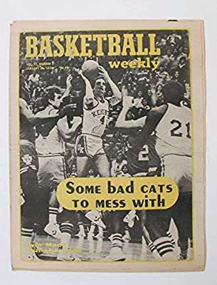 January 26,1979 Basketball Weekly Some Bad Cats To Mess With Kyle Macy Kentucky