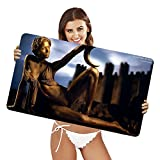 XtremePads [ Extra Large Gaming Desk Mouse Mat / Pad ] - ( Artistic Living Statue Noemie Lenoir Statue )