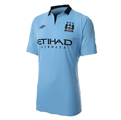 Amazon.com   Umbro Youth Manchester City Jersey b7a10d245