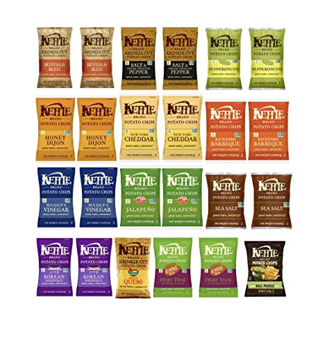 (Kettle Chips 12 Flavor Variety Pack 2 per flavor (1.5oz 24pk))
