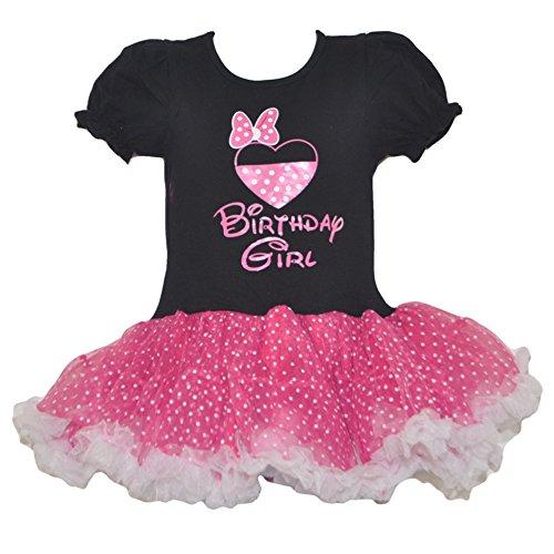 GoForDance Miki Mini Birthday Girl Polka Dot Dress (Medium-bfd)