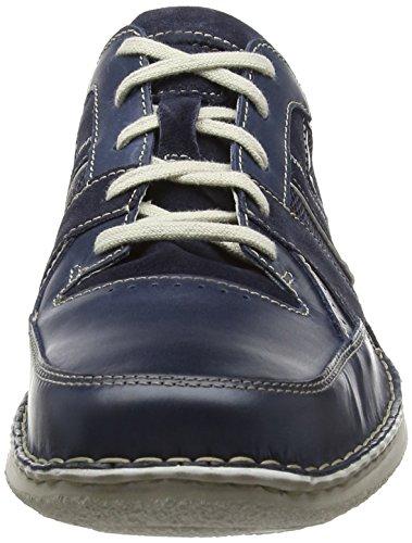Josef Seibel Anvers 30 - Zapatos de cordones oxford Hombre Azul - Blau (596 denim/kombi)