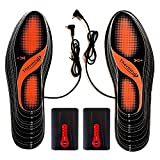 Thermrup Electric Heated Insole Foot Warmers Washable Battery Operated(4 temperature settings) ,size 5-14, high Temperature!
