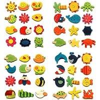 Tanzimarket - De alta calidad de 12 piezas de cocina de la historieta iman de bebé de juguetes educativos de madera