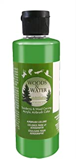 product image for Badger Air-Brush Co. 16-Ounce Woods and Water Airbrush Ready Water Based Acrylic Paint, Pearl Green
