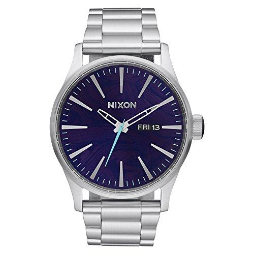 Nixon Mens Sentry SS Analog Dress Quartz Watch (Imported) (Ss Analog Watch)
